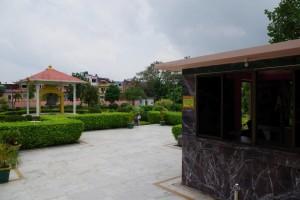 マハーボディー寺院の瞑想公園