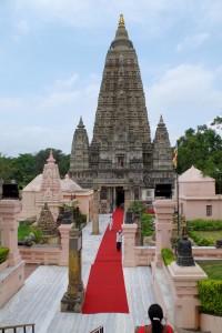 マハーボディー寺院の本殿の大塔