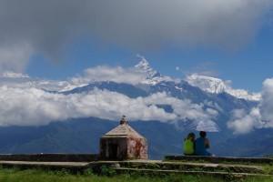 ヒマラヤの山々