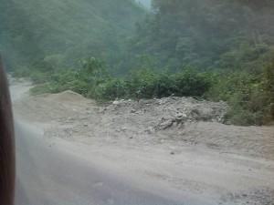 ネパールの道