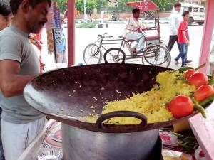 インドのカレーチャーハン