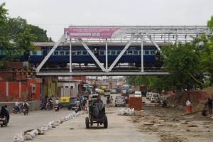 インド鉄道の線路