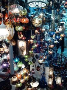 グランド・バザール、ランプを売る店