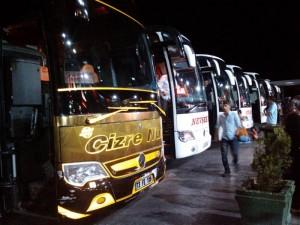 トルコの長距離バス(他社)