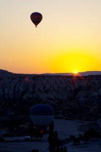 カッパドキアの夜明け